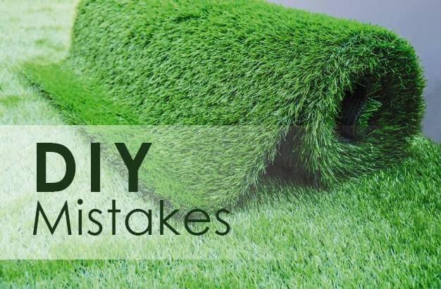 Common Mistakes with DIY Artificial Grass Installation in Houston